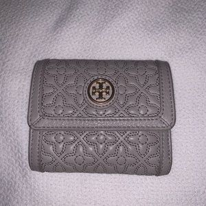 Tory Burch Bryant Mini Leather Wallet